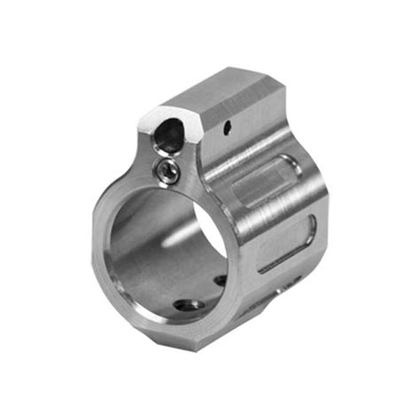 Odin Works Ar15 Low Profile Tunable Gas Block Ar15 Gas Block Low Profile 750 Stainless Steel Nitride