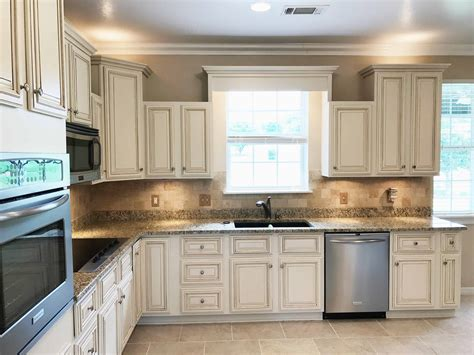 Off White Painted Kitchen Cabinets