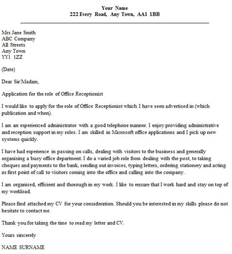 Cover Letter Office Support Assistant | How To Write A ...