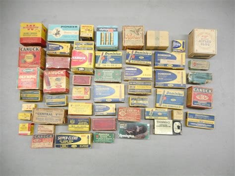 Old Ammo Boxes Value