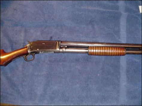 Old Pump Shotgun With Hammer And Pump Asault Shotgun