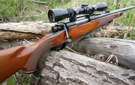 Old Winchester Bolt Action Hunting Rifle