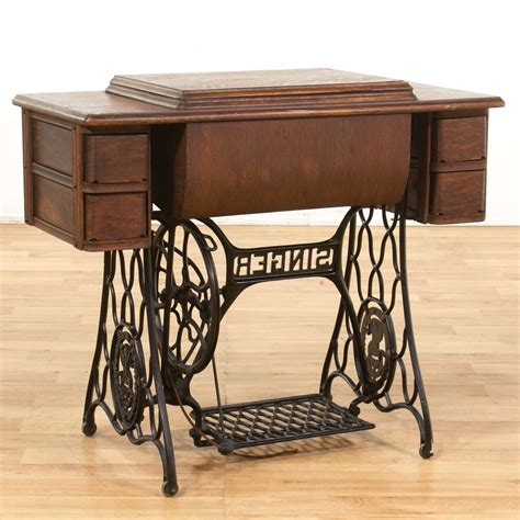 Old seamstress table Image