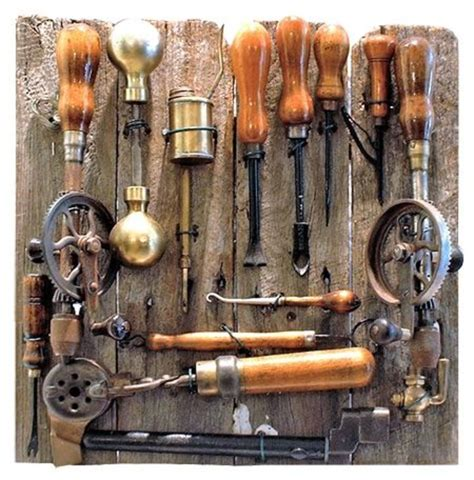 Old woodworking tools Image