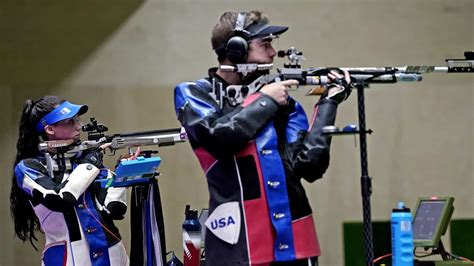 Olympic Rifle Shooting System