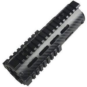 Omega Mfg Carbon Fiber Free Float Handguard 7 Carbine Length