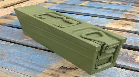 Open German Ammo Box