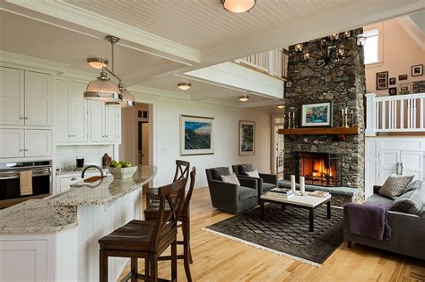 Open Kitchen Living Room Designs