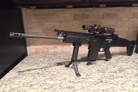 Operation Of Automatic Assault Rifles