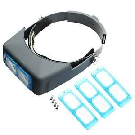 Optivisor Headband Magnifier Donegan Optical Company Da