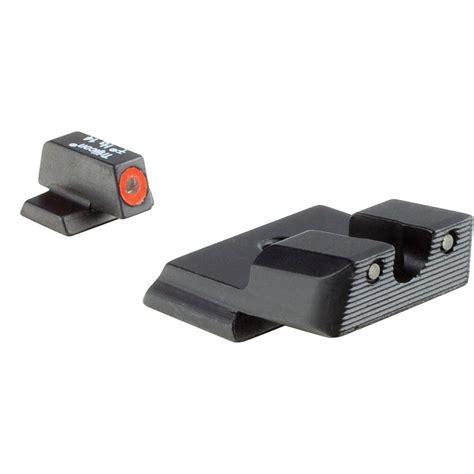 Orange Jsp Shield Night Hd Sets Sw Trijicon Sight Set Tritium Mp