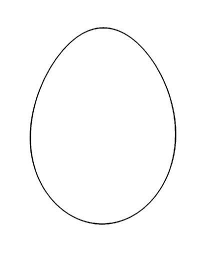 Osterei Malvorlage A5