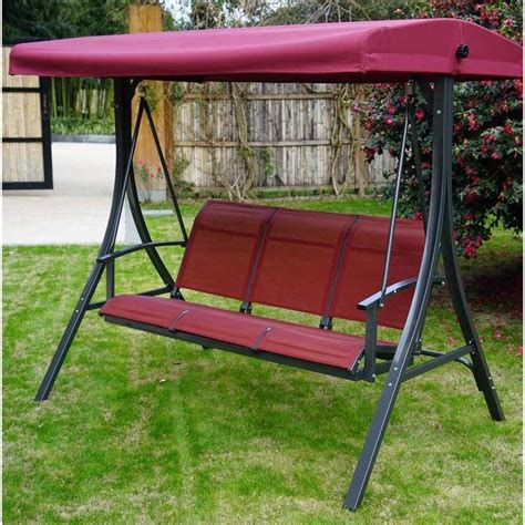 Otteridge Patio Porch Swing with Stand