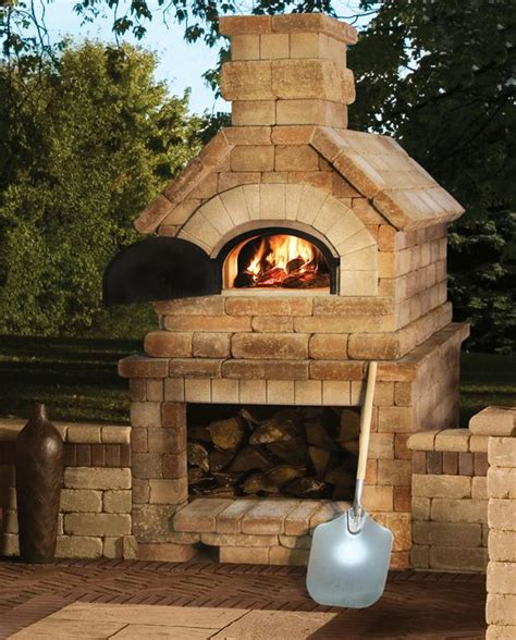 outdoor wood fired pizza oven plans