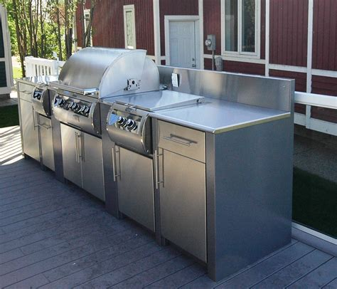Outdoor Kitchen Stainless Steel Cabinets
