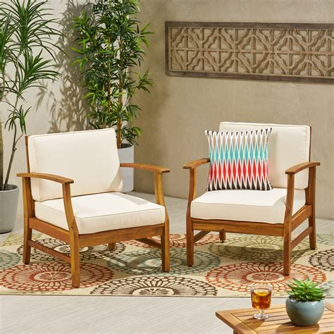 Outdoor bench chair Image