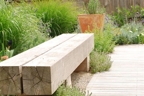 Outdoor bench seating plans Image