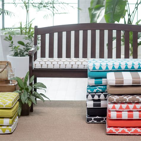 Outdoor bench swing cushions Image