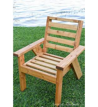 Outdoor Chair Design Plans