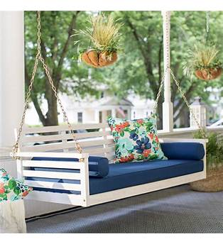 Outdoor Floating Bed Plans