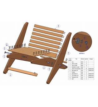 Outdoor Folding Chair Plans