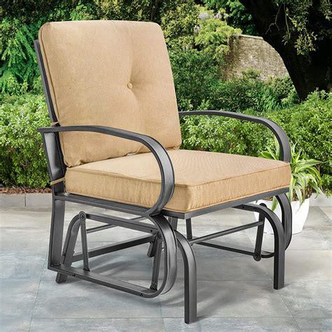Outdoor furniture patio glider Image