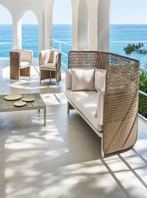 Outdoor furniture pattern Image