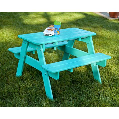 ?outdoor kids picnic table Image