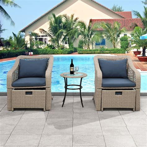 Outdoor tables for two Image