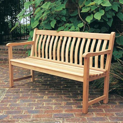 Outdoor Wood Bench Kits Image