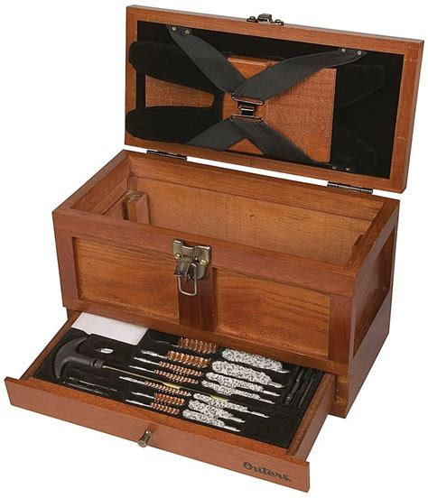 Outers 70084 25 Piece Universal Wood Gun Cleaning Tool Chest