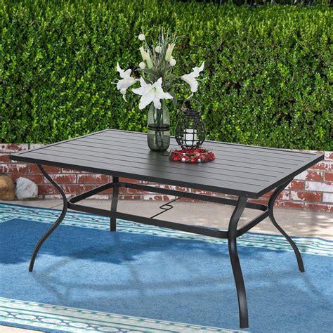 Outside patio table Image