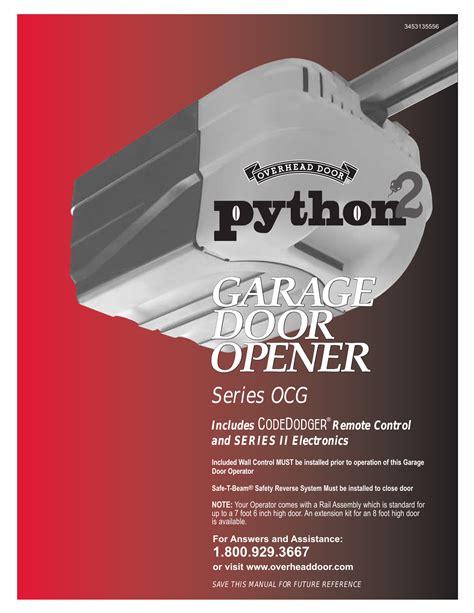 Overhead Garage Door Opener Manual Make Your Own Beautiful  HD Wallpapers, Images Over 1000+ [ralydesign.ml]