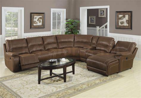 Oversized Leather Sectional Sofa