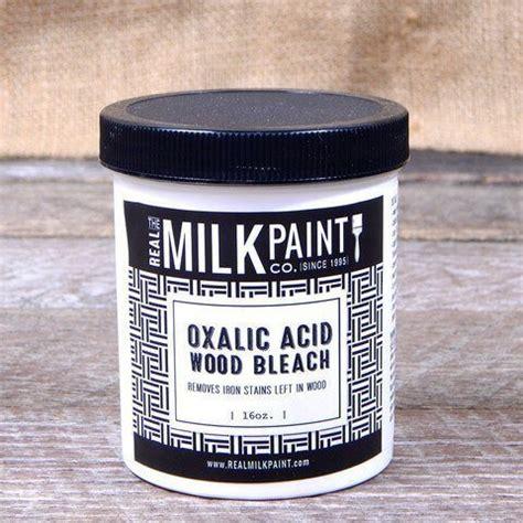 Oxalic acid wood bleach Image