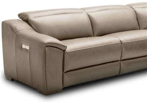 Ozzy Motion Leather Reclining Sectional