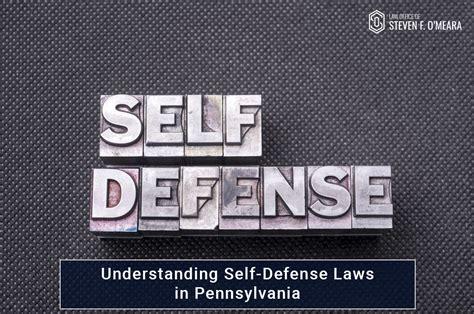 Pa Self Defense Statute