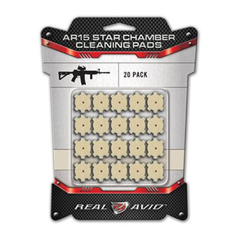 Pads Chamber Cleaning Avid Star 20pk Real Ar15