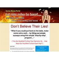 Paid survey site surveymoneyportal com coupons