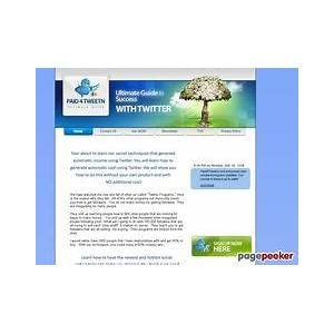 Paid4tweetn the ultimate guide to making money with twitter! reviews