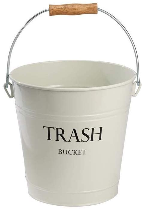 Pail Steel 3.3 Gallon Waste Basket