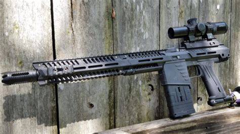 Paintball Gun Sniper Rifle Range