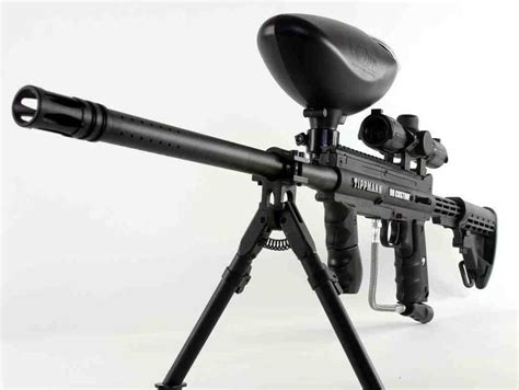 Rifle-Scopes Paintball Rifle With Scope.