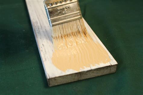 painting on stained wood.aspx Image