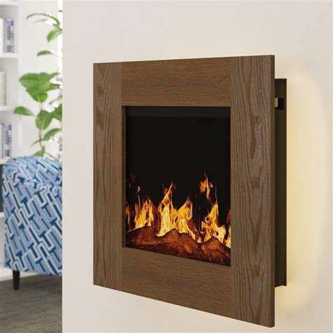 Paladino Backlit Wall Mounted Electric Fireplace