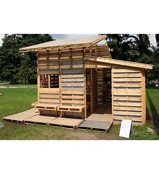 Pallet Cabin Plans