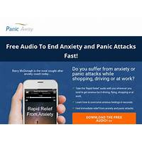 Panic away end anxiety & panic attacks well being and self help work or scam?