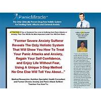 Panic miracle (tm): top panic & anxiety cure on cb! free trial
