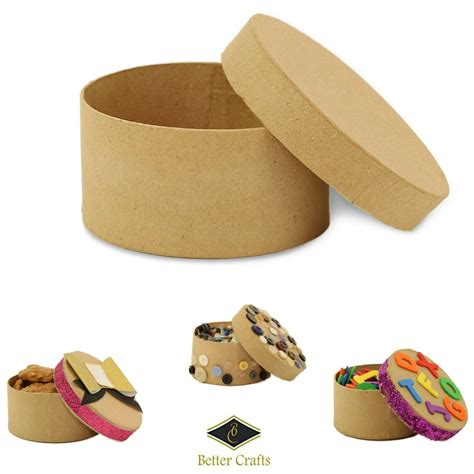 Paper mache gift boxes Image