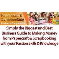 Papercraft and scrapbooking business compendium promo